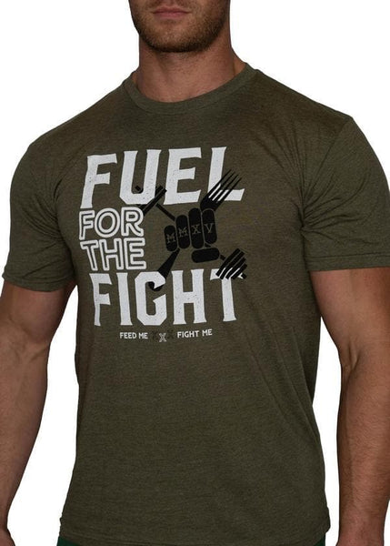 Feed Me Fight Me Men's Fuel for the Fight T-shirt - 9 for 9