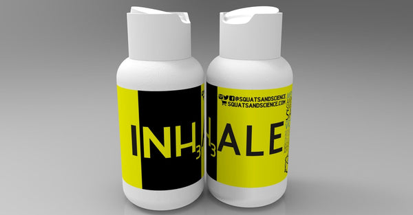 Squats & Science INHALE 2.0 Smelling Salts - 1 x bottle