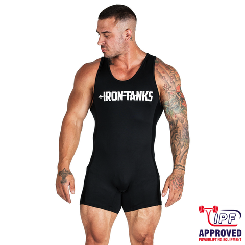 Iron Tanks Conquer Powerlifting Singlet / Soft Suit - IPF APPROVED