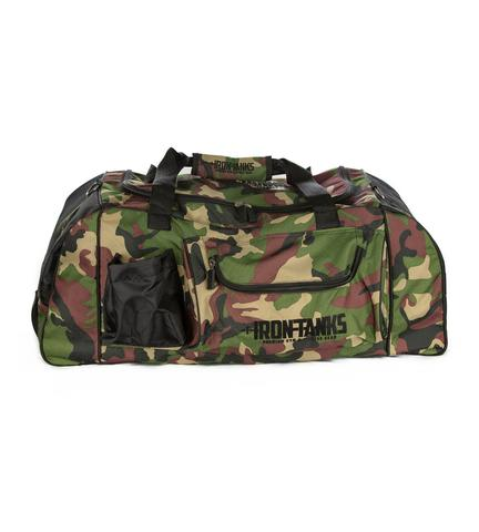 Iron Tanks Combat Gym Bag - Woodland Camo - 9 for 9