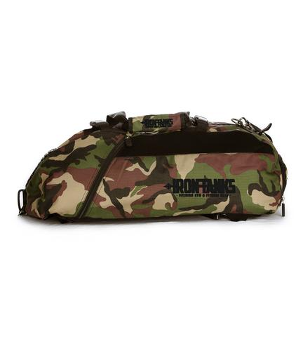 Iron Tanks Military Gym Bag - Woodland Camo - 9 for 9