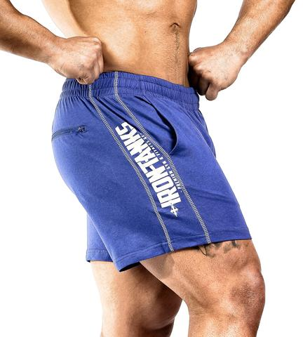 Iron Tanks Men's N1 Classic Shorts (Royal Blue) - 9 for 9