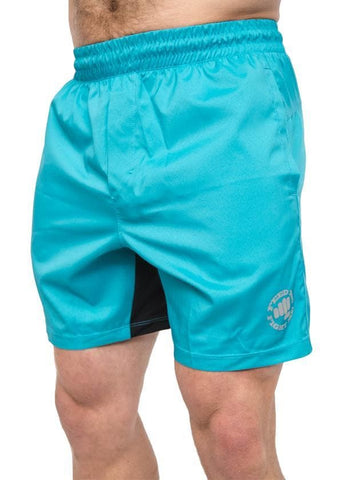 Feed Me Fight Me Men's Everyday Shorts (Electric Blue)