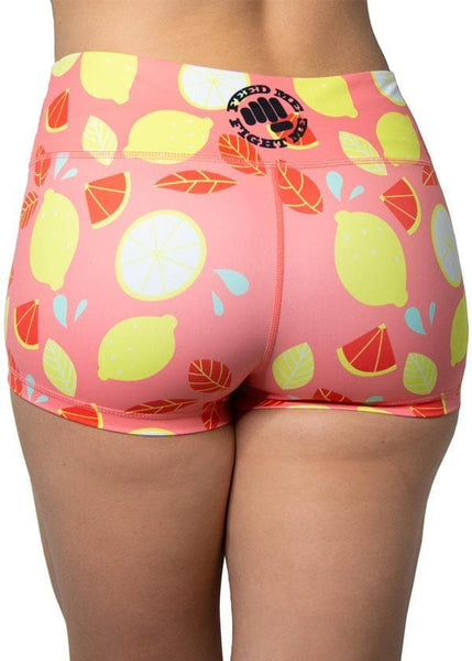 Feed Me Fight Me Pink Lemonade Shorts