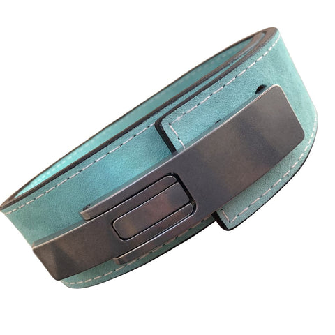"Pioneer Fitness Powerlifting Lever Belt – 10mm thick – 3"" wide (Single Colour Suede) - 9 for 9"