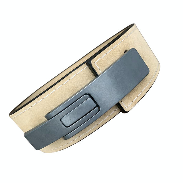 "Pioneer Fitness Powerlifting Lever Belt – 13mm thick – 3"" wide (Single Colour Suede) - 9 for 9"