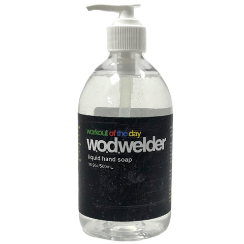 w.o.d.welder Natural Liquid Soap (Peppermint/Eucalyptus) - 9 for 9