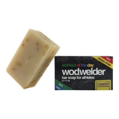 w.o.d.welder Natural Bar Soap (Lemon Lavender) - 9 for 9