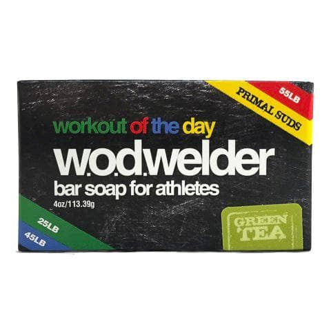 w.o.d.welder Natural Bar Soap (Green Tea) - 9 for 9