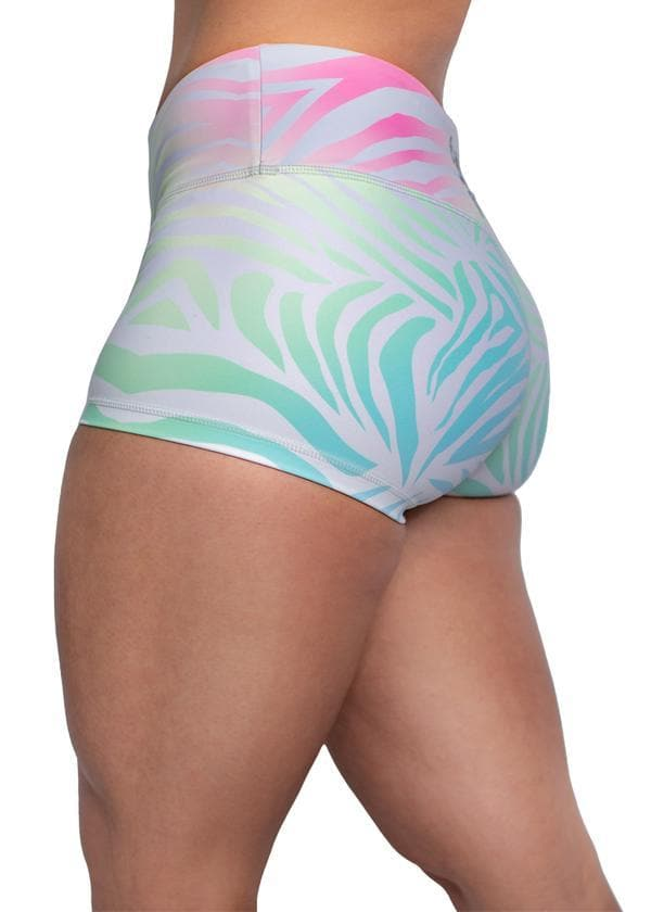 Feed Me Fight Me Women's Space Waves Shorts - 9 for 9