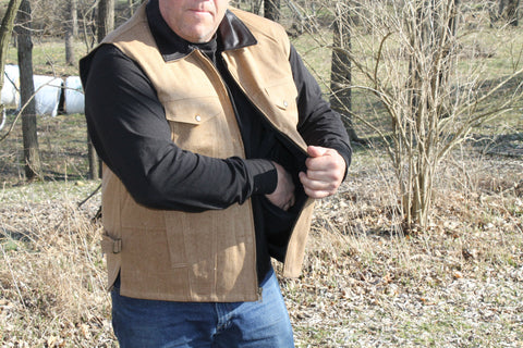 Canvas Conceal Carry Vest