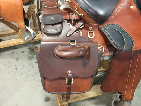 Small Western Saddle Bags