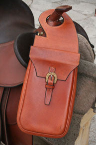 Single Leather Horn Bag