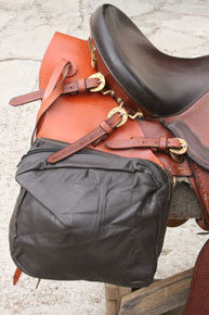 Soft Leather Saddle Bags