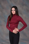 Maroon SN Turtle Neck
