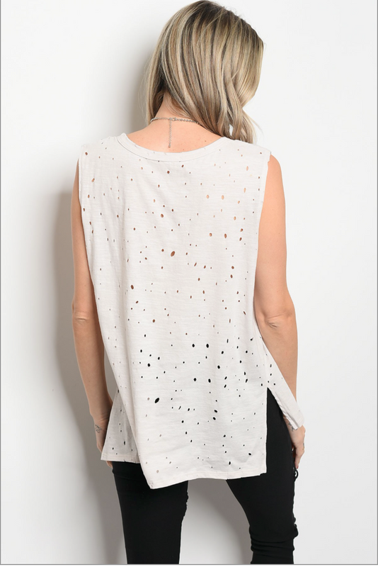 "Back view of ""Simply Distressed Tank"""