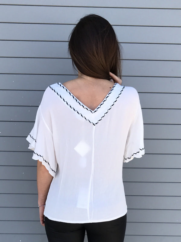 "Back view of top called ""Jazz It Up Top"""