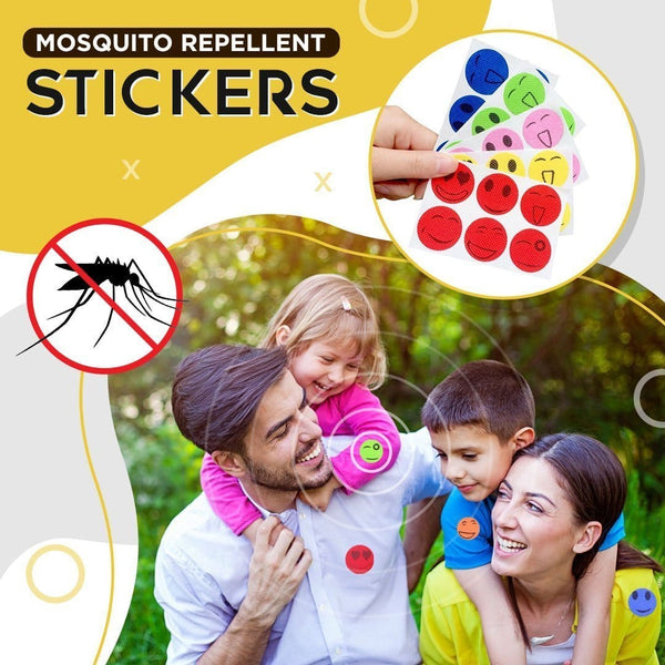 MOSKIPATCH™ - NATURAL MOSQUITO REPELLENT (LIMITED TIME SPECIAL 120 PCS/SET)