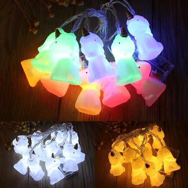 Unicute Unicorn String Lights (Set of 10)