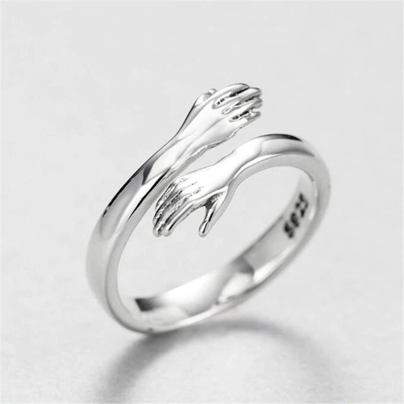 HugRing™ - 925 sterling silver adjustable ring