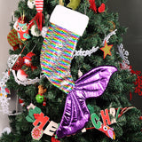 Reversible Sequins Mermaid Christmas Stocking