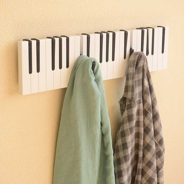 Piano Keys Modern Coat Hooks