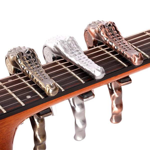 CROCODILE (ALLIGATOR) GUITAR CAPO