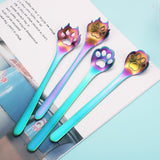 PawStirs™ - 4pcs Stainless Steel Dogs/Cats Paw Spoons
