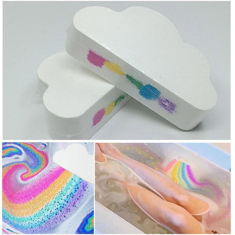 🔥(BUY 2 GET 1 FREE) Natural Skin Care Rainbow Cloud Bombs