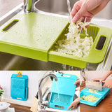 Multi-Function Over the Sink Cutting Board