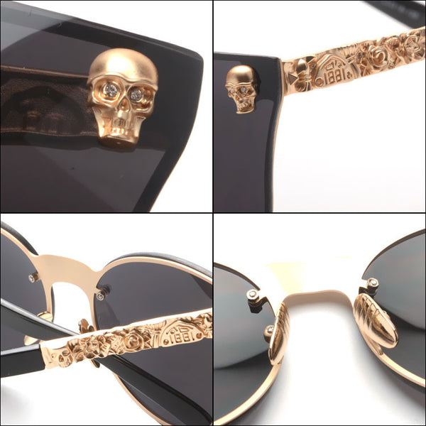 2017 Summer Skull Sunglasses