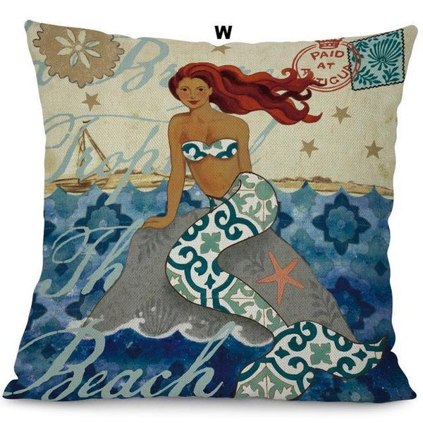Mermaid Cushion Covers