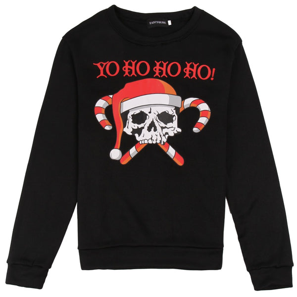 SANTASKULL - Skull christmas sweater
