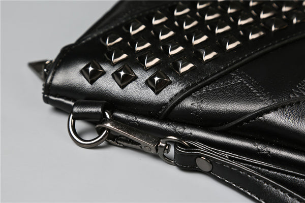 Skull Black Messenger Bag