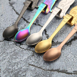 CREATIVE STAINLESS STEEL MERMAID SPOONS