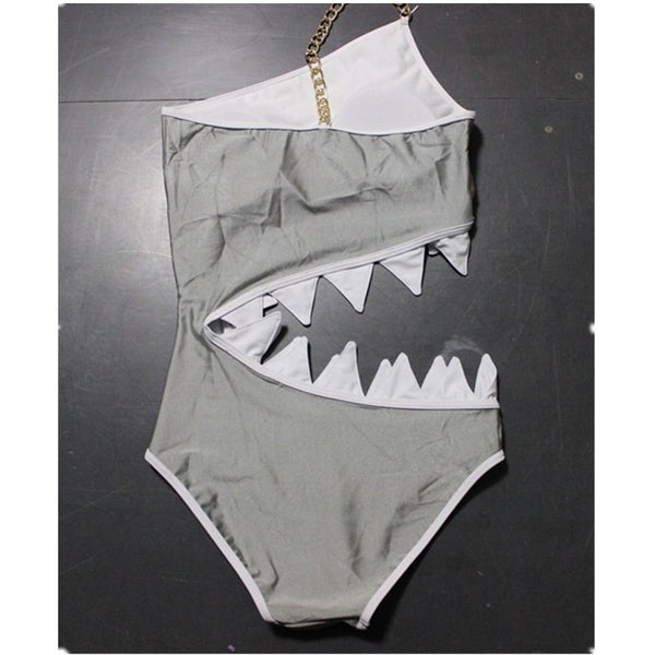 Shark Bite Bathing Suit