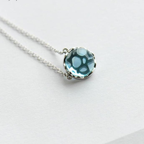 Ocean Ripple 925 Sterling Silver Necklace