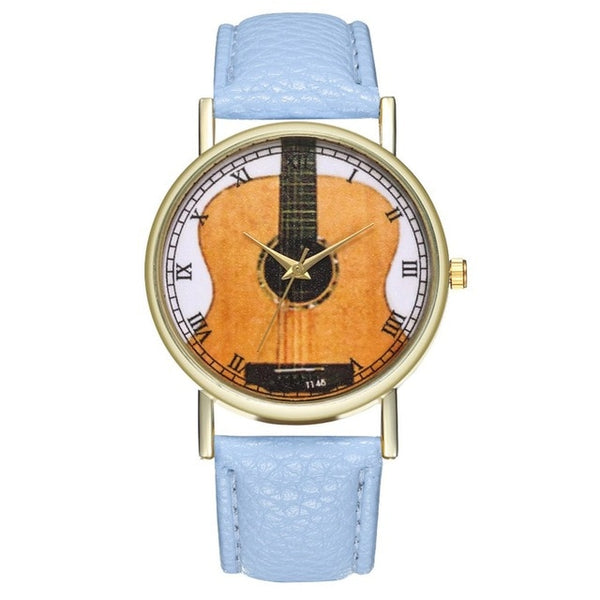 WG Guitar Watch