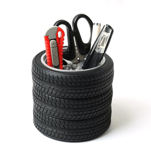 Tire Stack Pens Holder