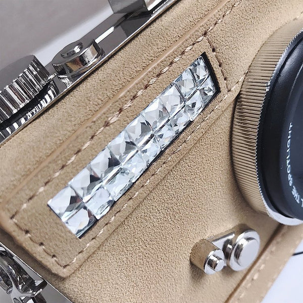 Camera Shaped Handbag