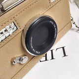 Camera Shaped Shoulder Bag