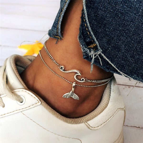Under Sea Mermaid Tail Anklet