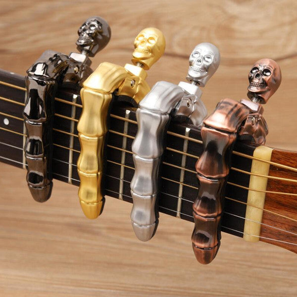 SKULL SKELETON FINGER GUITAR CAPO
