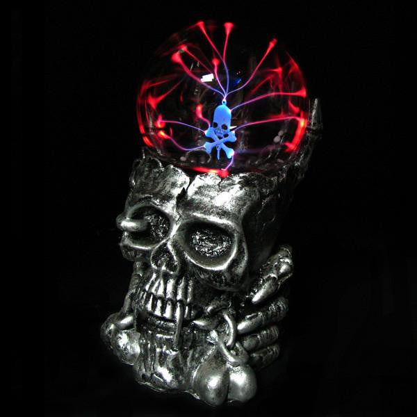 TREASURE SKULL MAGIC BALL LAMP