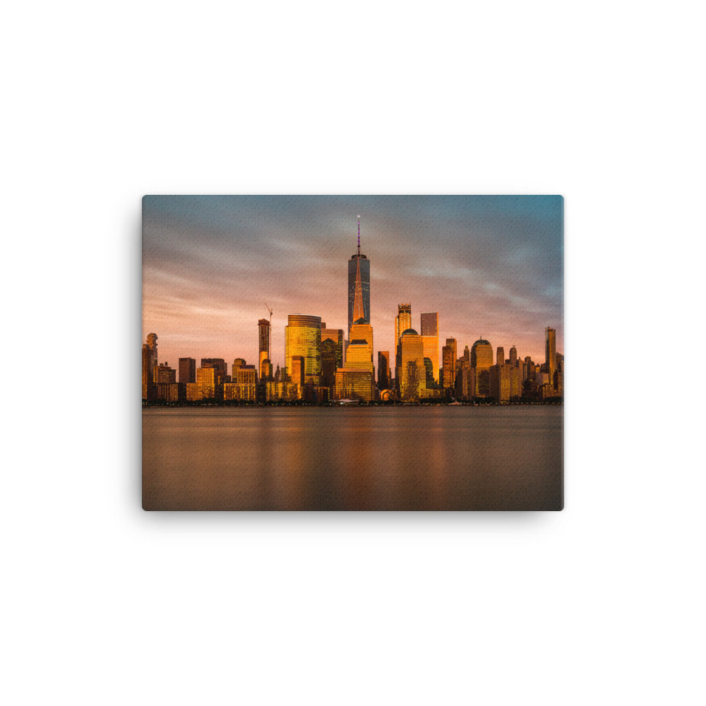New York City Manhattan Skyline Canvas Hanging Wall Print Art Home Decoration Large Premium Quality