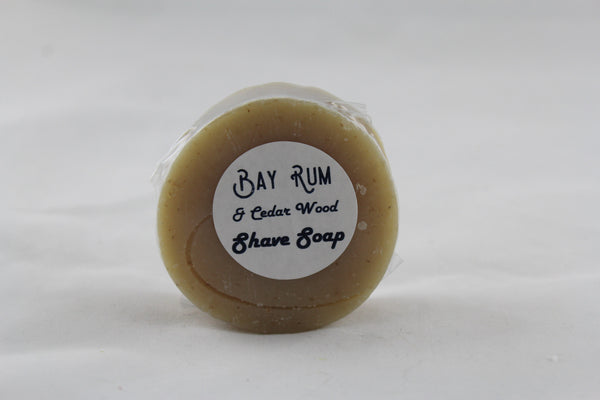 Bay Rum & Cedarwood Shave Soap