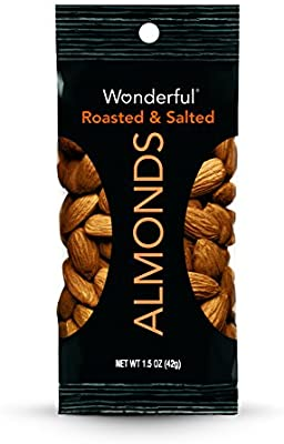 Wonderful Almonds, Roasted and Salted, 1.5 Ounce