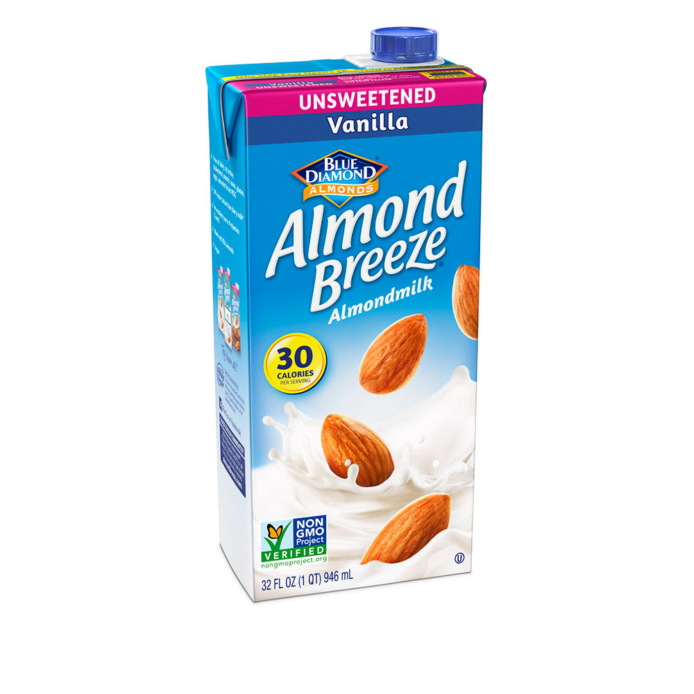 Almond Breeze Almondmilk, Unsweetened Vanilla 32 fl oz