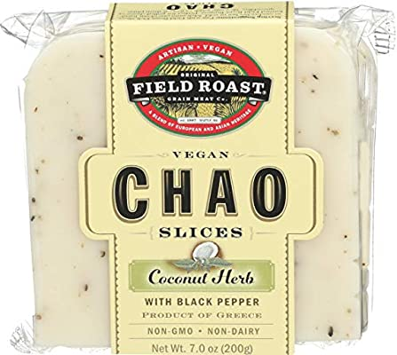 Field Roast Coconut Herb Chao Cheese