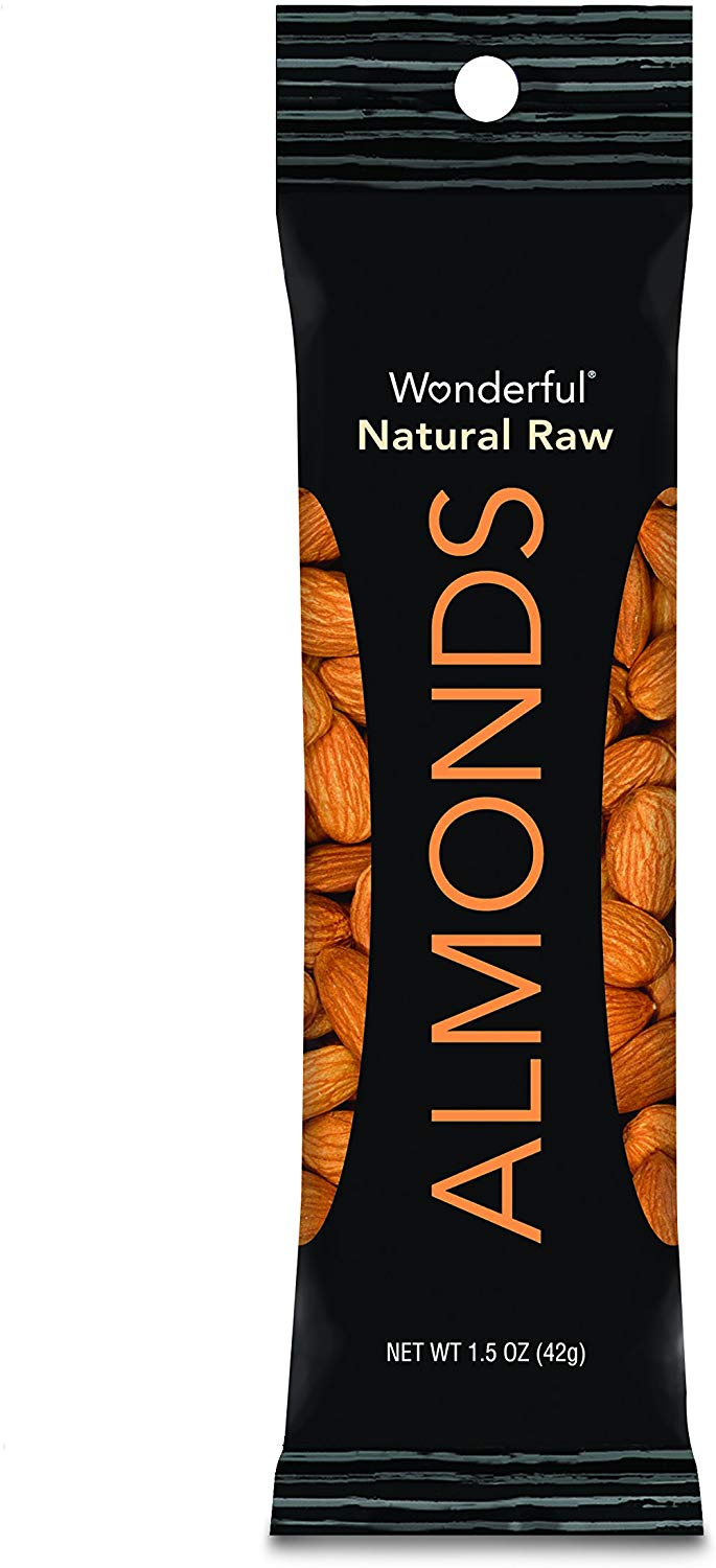 Wonderful Almonds, Natural Raw, 1.5 Ounce